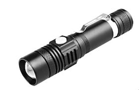 Ficklampa Laddningsbar USB