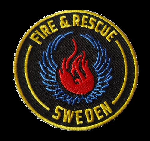 Fire & Rescue Sweden Patch Kardborre