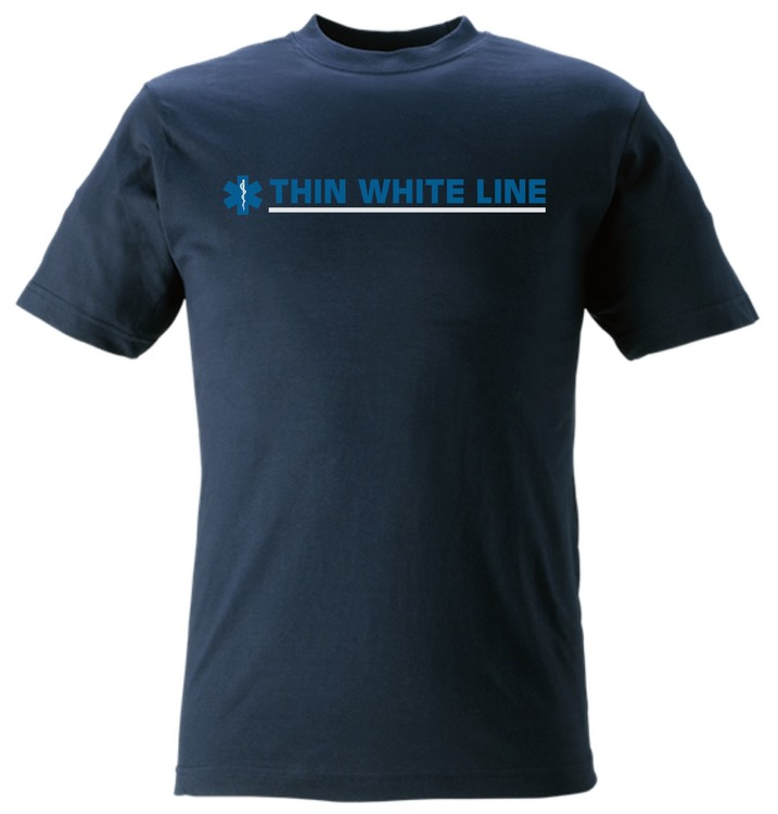 T-Shirt Thin White Line