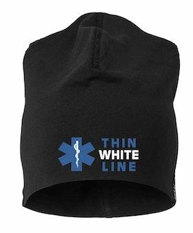 Thin White Line Beanie