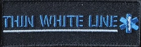 Thin White Line Patch Kardborre