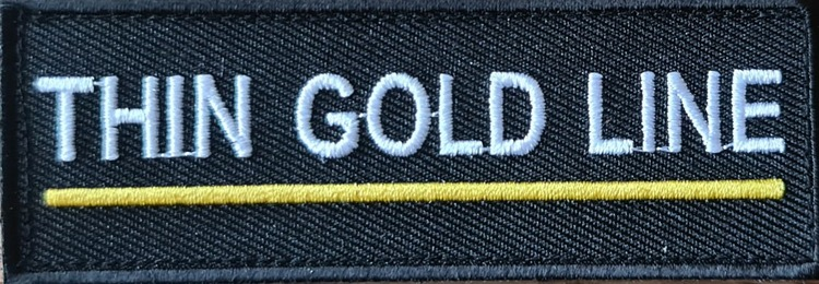 Thin Gold Line Patch