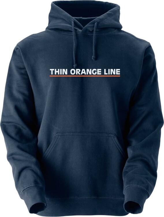 Thin Orange Line Hoodie