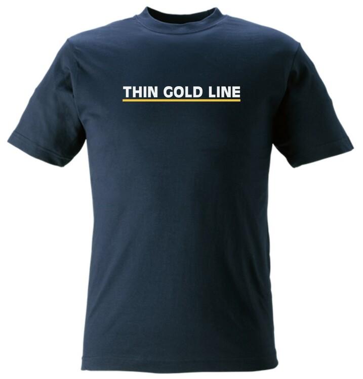 Thin Gold Line T-Shirt