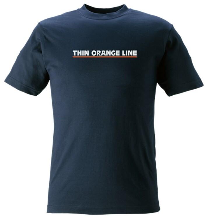 Thin Orange T-Shirt