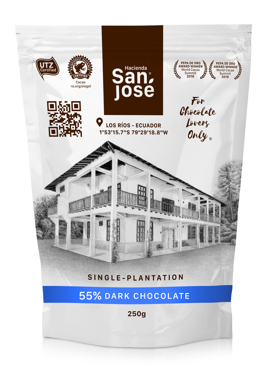 Hacienda San José Chocolate Drops (250gr)