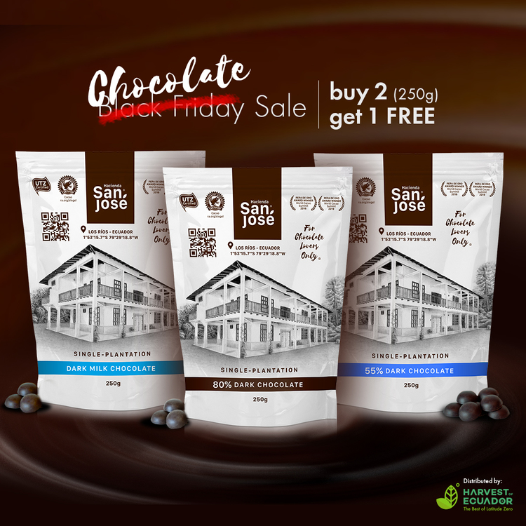 Black Friday Sale: Buy 2 (250g bags) and get 1 FREE