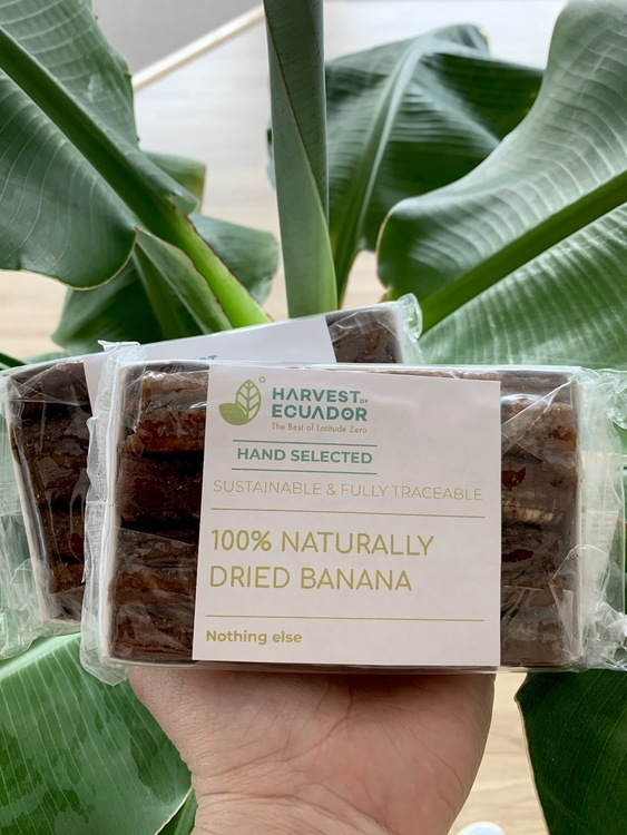 Naturally Dried Bananas 260g