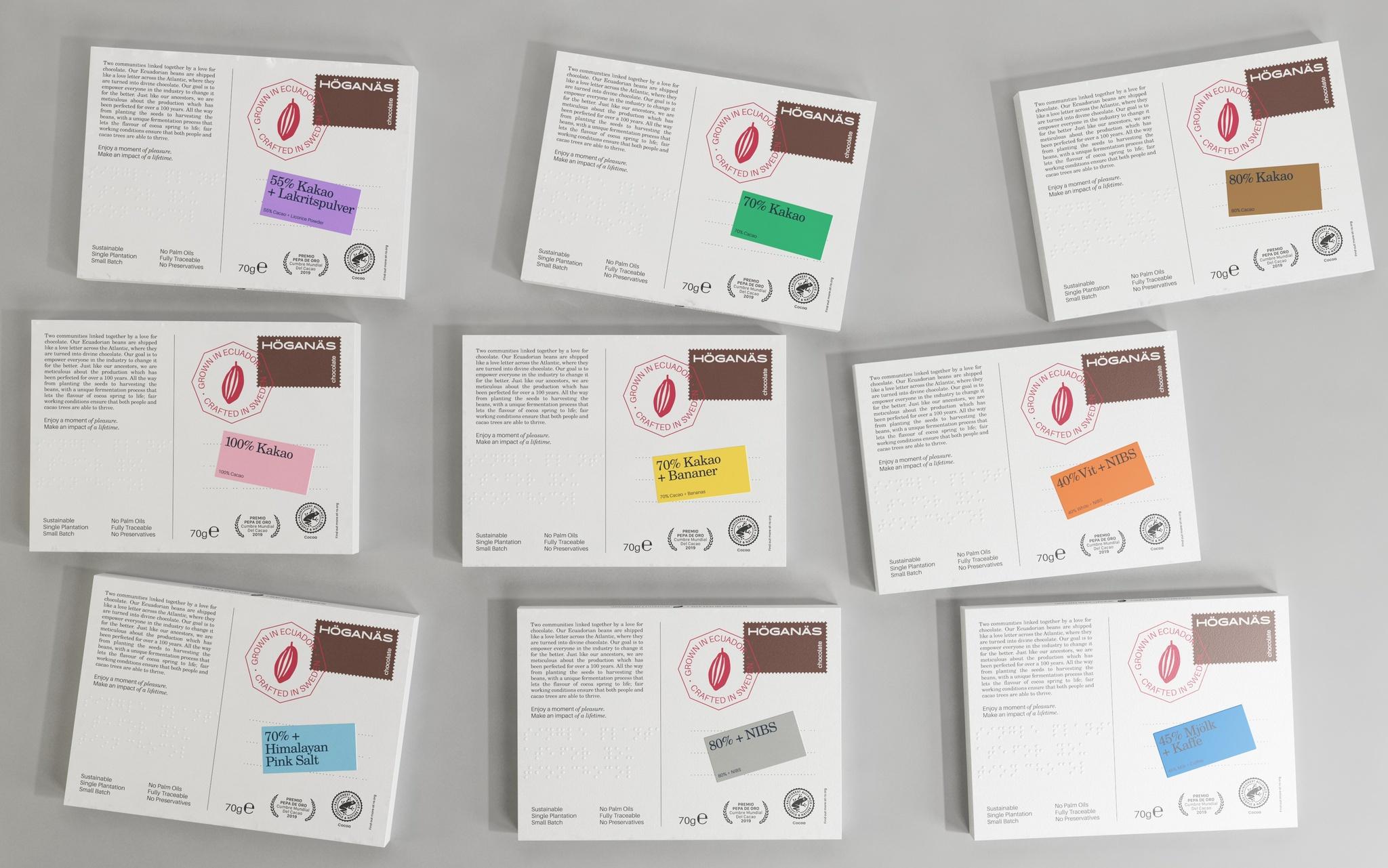 80% Kakao Höganäs Chocolate Kakor 70g