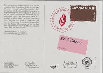 100% Kakao Höganäs Chocolate Kakor 70g