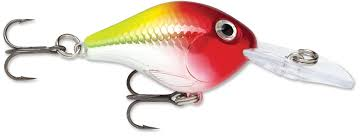 Vobbler Rapala Ultra Light Crank Clown ca 50 mm inkl skeden