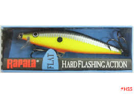 Vobbler Rapala Flat Rap Hot Steelca 65 mm
