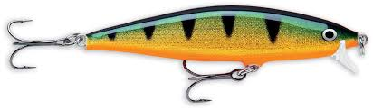 Vobbler Rapala Flat Rap, Perch, ca 90 mm