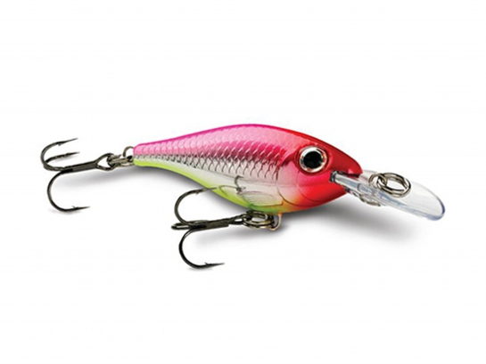 Vobbler Rapala Ultra Light, Silver Hot Pink, ca 40 mm (55 inkl skeden)