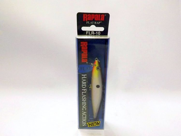 Vobbler Rapala Flat Rap PurpleDesecent, ca 105 mm