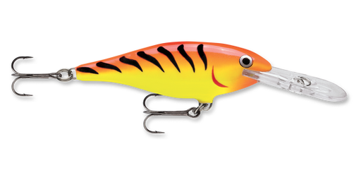Vobbler Rapala Shad Rap Hot Tiger 90 mm (120 mm inkl sked)