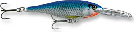 Vobbler Rapala Super Shad RapBlue Shiner ca 145 mm
