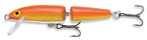 Vobbler Rapala Gold Fl Red, Tudelad, 110 mm