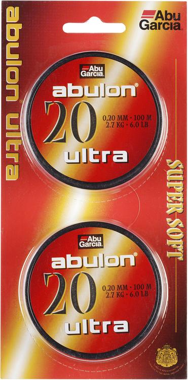 Fiskelina Abu Garcia Abulon Ultra Grön 0,20 mm 2,7 kg