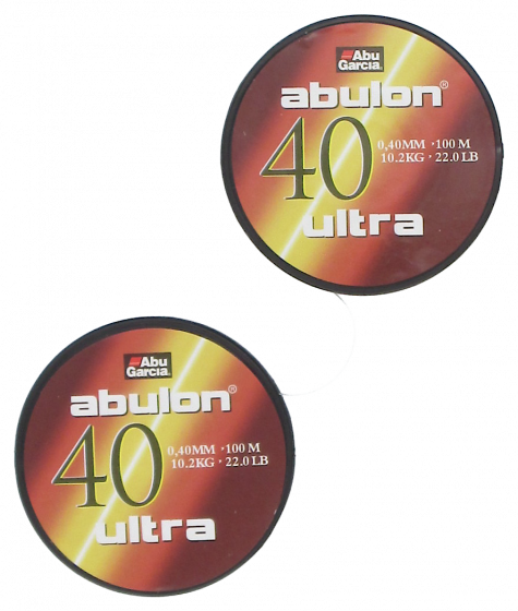 Fiskelina Abu Garcia Abulon Ultra 2 x 100 m Grön 0,40 mm 10,2 kg