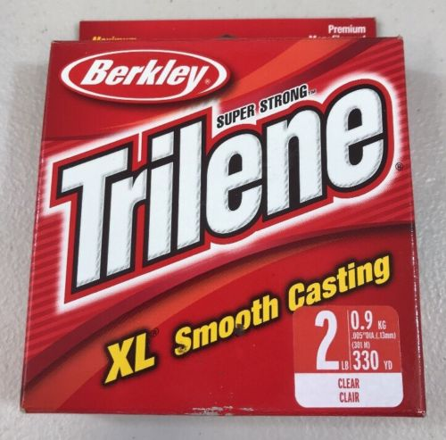 Fiskelina Berkley Trilene XL Smooth Casting 0,13mm, 0,9 kg 301meter