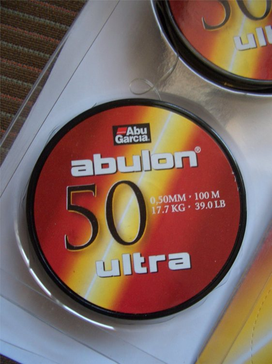 Fiskelina Abu Garcia Abulon Ultra 0,50 mm 100 m 17,7 kg