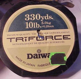 Fiskelina Daiwa TriForce 300m 0,25mm 4kg