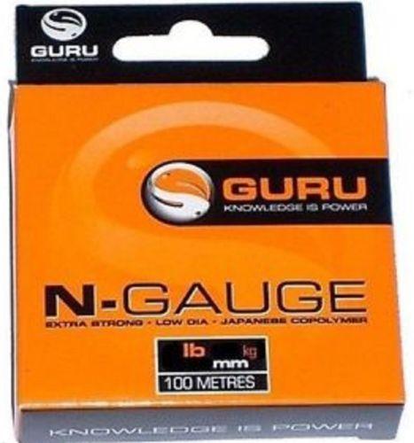 Fiskelina Guru N-Gauge 3,18kg 0,19mm, 100m