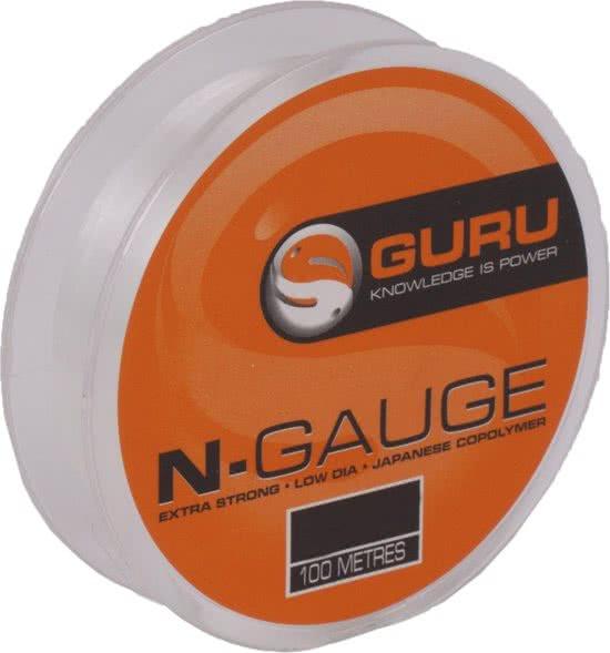 Fiskelina Guru N-Gauge 1,81kg 0.13 mm 100m