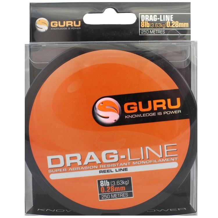 Fiskelina Guru Drag-Line 3,63kg 0,28mm 250m