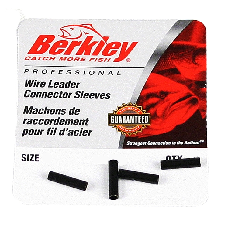 Berkley Wire Leader Connector Sleeves Storlek 3, 7-21kg Antal 33 st