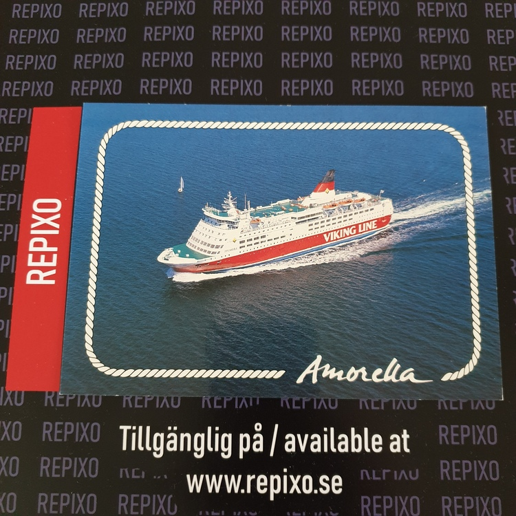 Postcard Viking Line Amorella