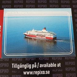 Postcard Viking Line Athena