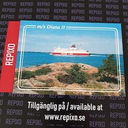 Postcard Viking Line Diana II