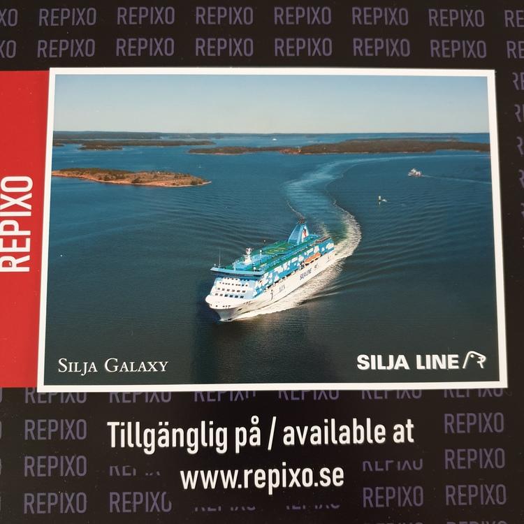 Postcard Silja Line Galaxy
