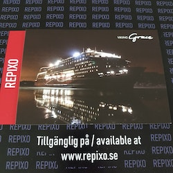 Postcard Viking Line Grace