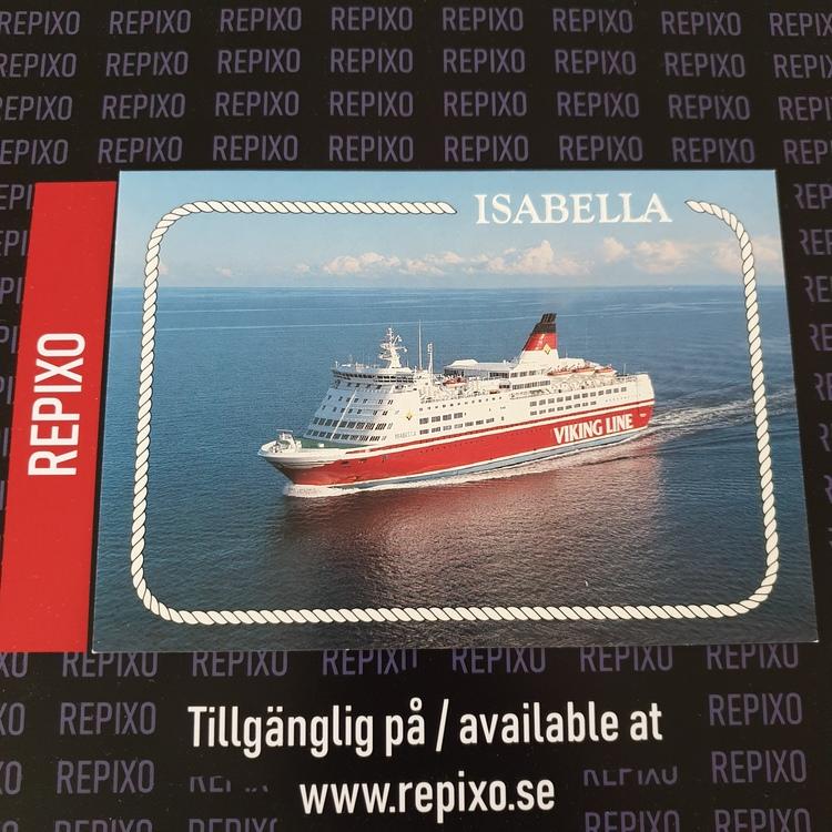 Postcard Viking Line Isabella