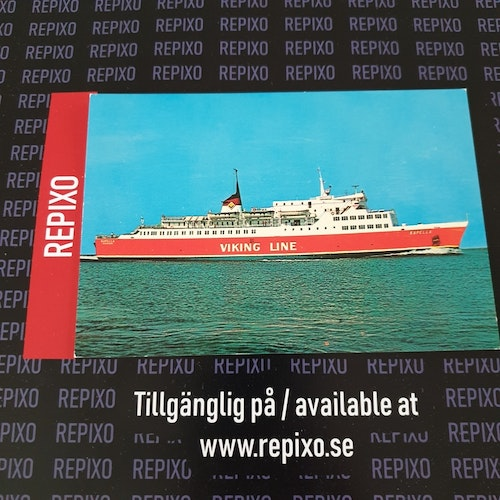 Postcard Viking Line Kapella