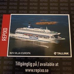 Postcard Silja Europa