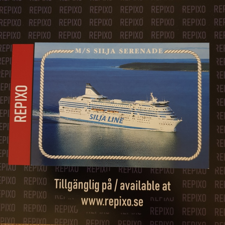 Postcard Silja Serenade