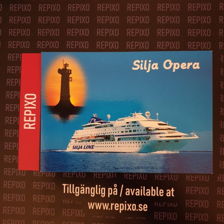 Postcard Silja Opera