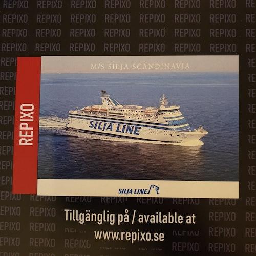 Postcard Silja Scandinavia