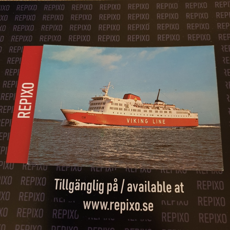 Postcard Viking 4