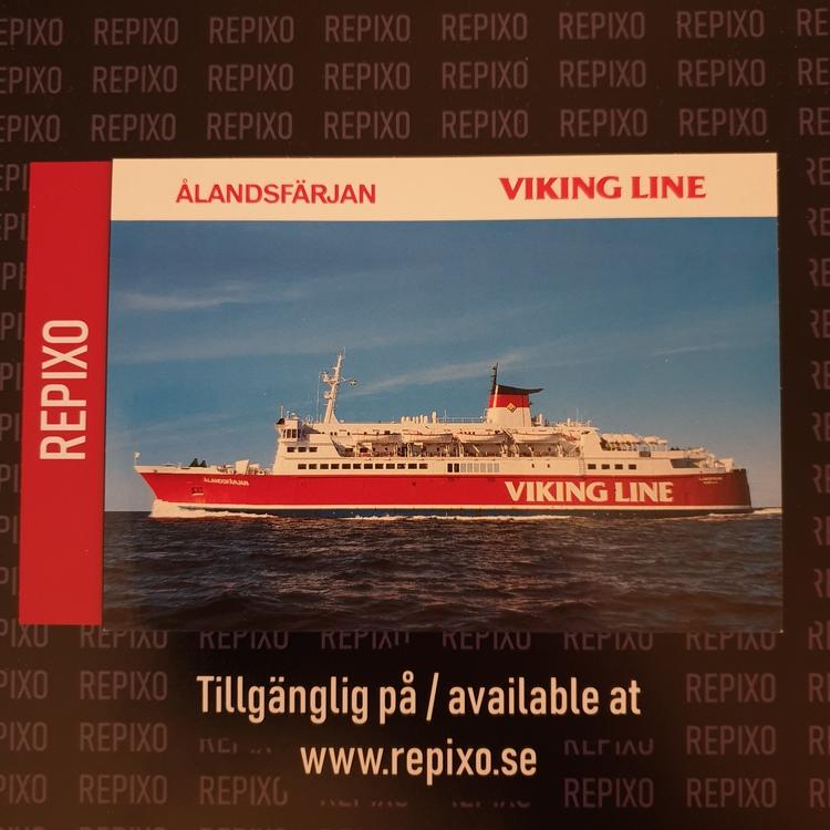 Postcard Ålandsfärjan