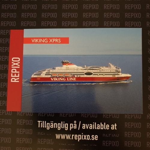 Postcard Viking XPRS