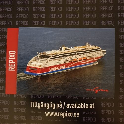 Postcard Viking Grace
