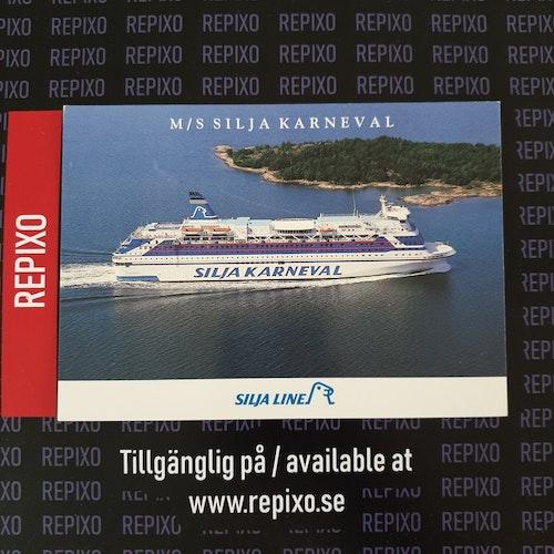 Postcard Silja Karneval