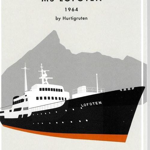 Lofoten 1964 (standing)
