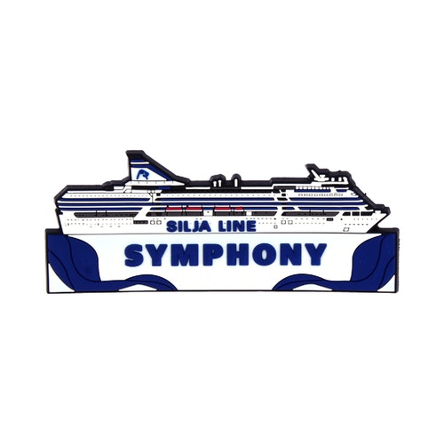 Silja Symphony magnet