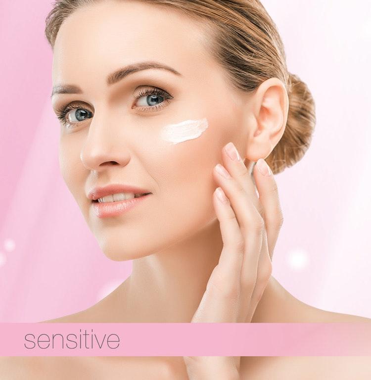 Ansiktslotion för torr, känslig och couperose hud